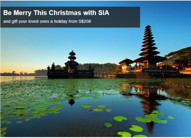 Be Merry this Christmas with SIA from S$208 1