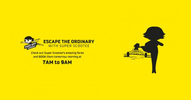 Get Ready to Scoot from Ordinary this Tuesday!