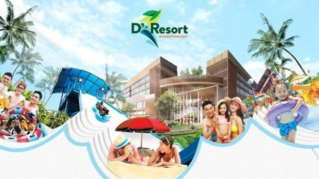 FREE $55 Downtown East Vouchers with Minimum 2 Nights Stay in D'Resort