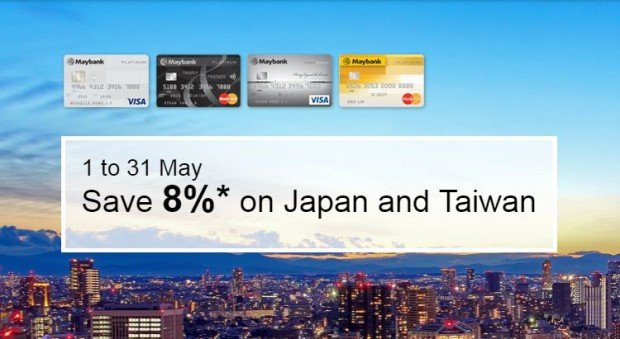 Up to 8% Off on Hotel Bookings on agoda.com with Maybank