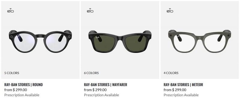 Ray-Ban Smart Glasses
