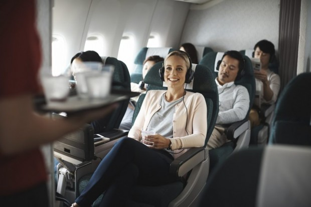Two-to-Travel Premium Economy Class Advance Purchase Fares on Cathay Pacific