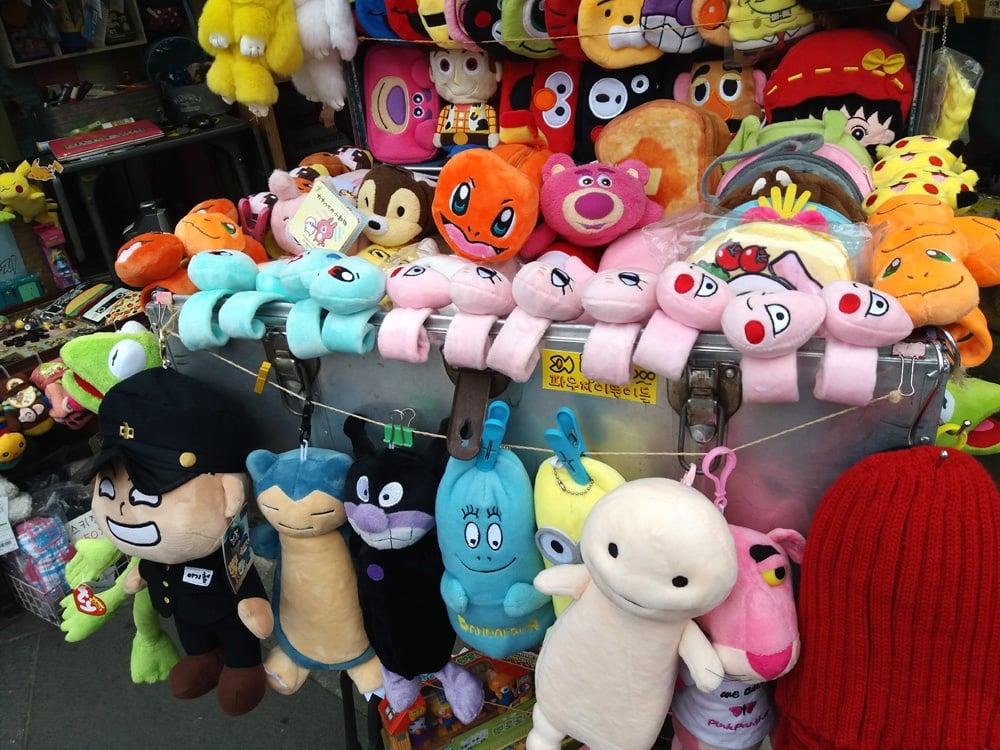 Korean plush toys