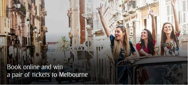 Book Online and WIN Pair Tickets to Melbourne with Emirates' Travel Fair Special