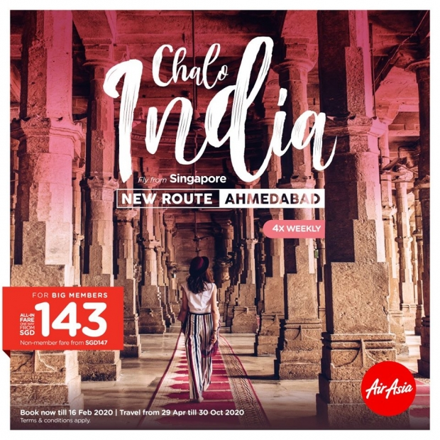 Explore India with AirAsia from SGD143
