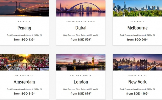 Discover the World with Emirates from SGD139 1
