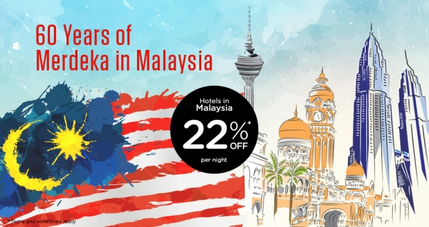 Celebrate 60 Years of Merdeka in Malaysia with Tune Hotels