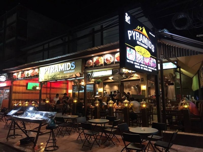 Pyramids Restaurant Ao Nang Krabi