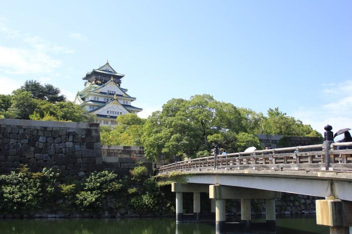Food Places Near Osaka Castle