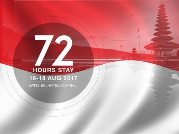 72 Hours Stay in Bali Swiss-Belhotel this Indonesia National Day Celebration