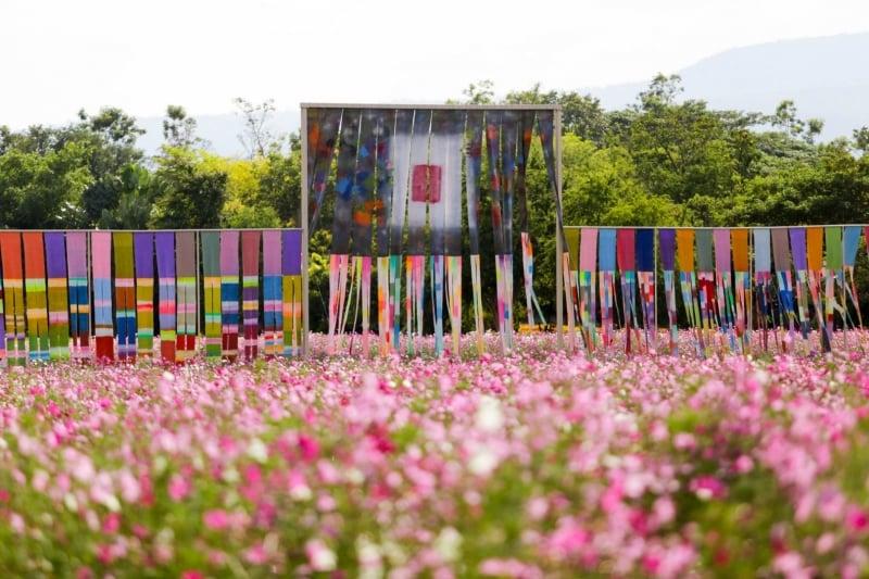Jim Thompson Farm thailand flower fields