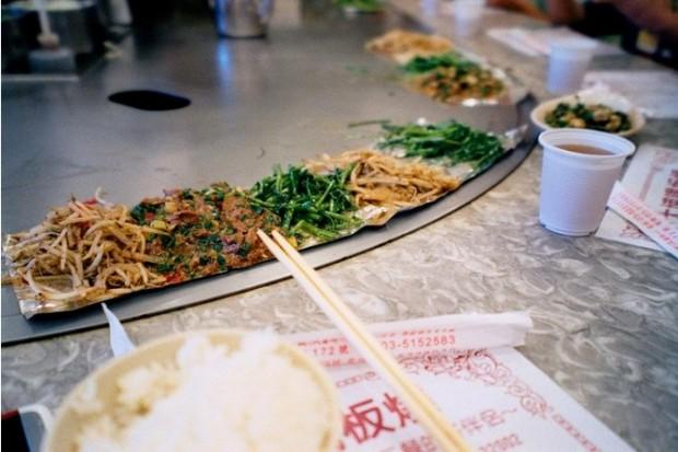Kinh Nghiệm du lịch Đài Loan hàng nướng (铁板烧)