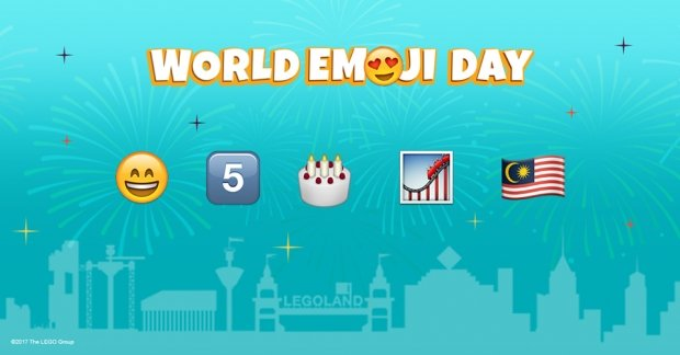WIN Access to Legoland Malaysia with their World Emoji Day Contest