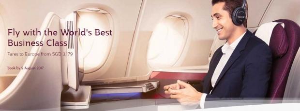 Travel in Style with Qatar Airways' Premium Seat Sale