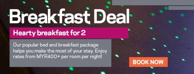 The Breakfast Club Deal in Aloft Kuala Lumpur Sentral from RM400