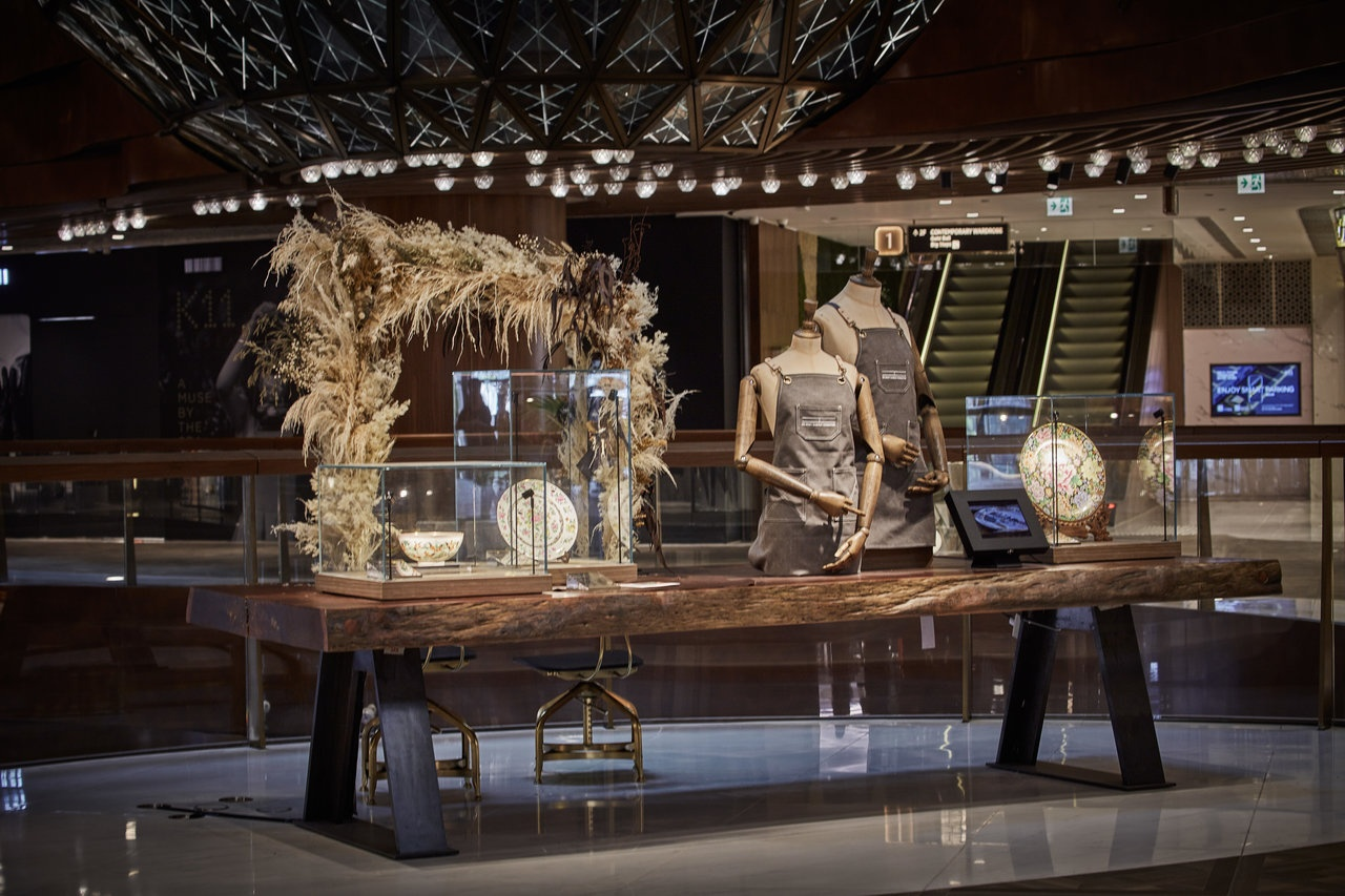 K11 Musea traditional craft exhibit
