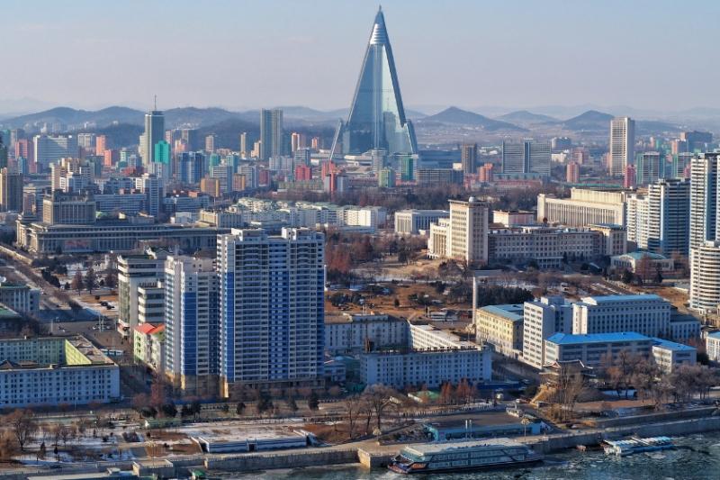 North Korea Skyline