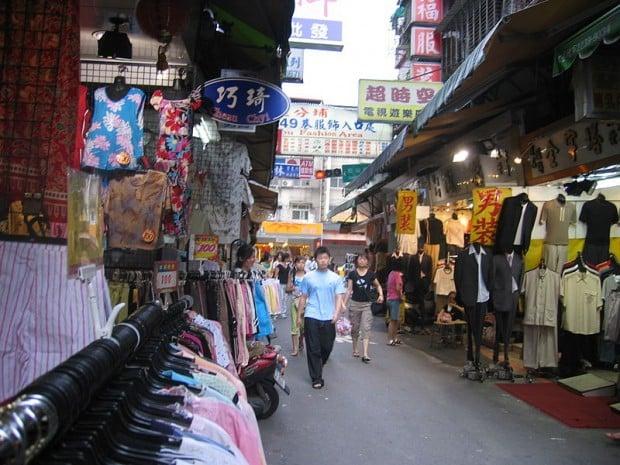 Kinh Nghiệm Du Lịch Đài Loan: Mua sắm