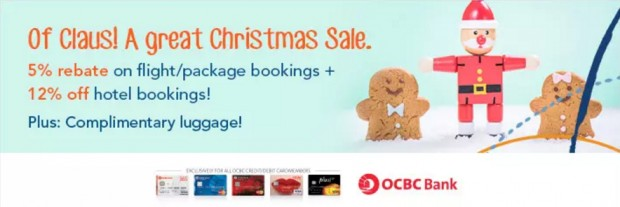 A Great Christmas Sale on Zuji with your OCBC Card