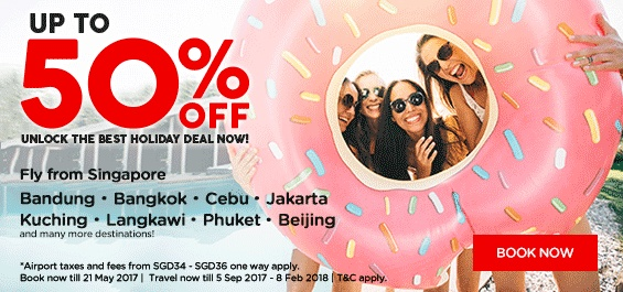 Up to 50% Off Fares to Best Holiday Destinations with AirAsia