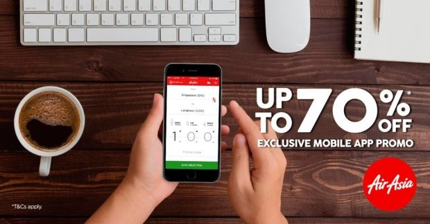 Up to 70% Savings for your Next Getaway with AirAsia