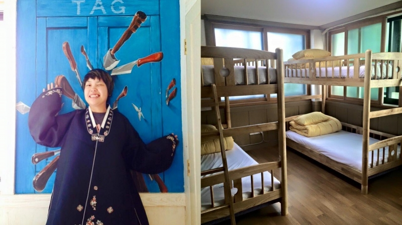 budget hostels in korea