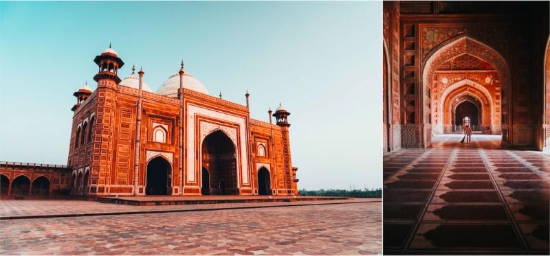 Jawab Masjid Agra India