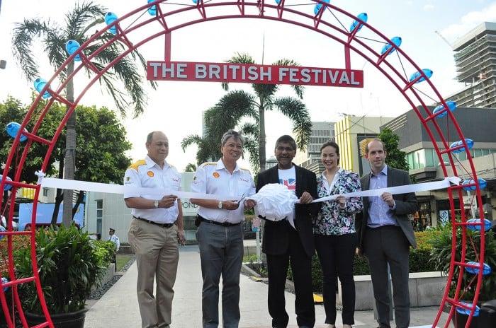 Great British Festival Ribbon Cutting
