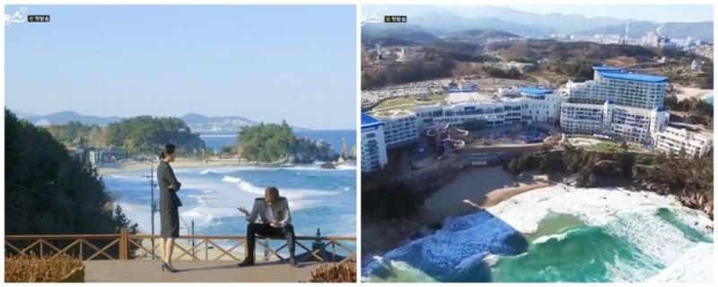 Bãi biển Chuam, Donghae