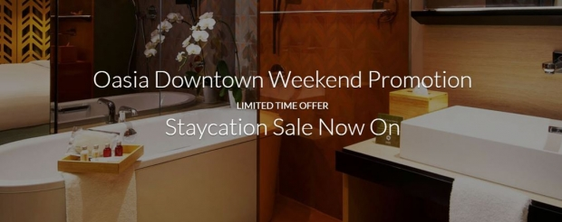 Oasia Downtown Weekend Promotion with Staycation from SGD228 via Far East Hospitality