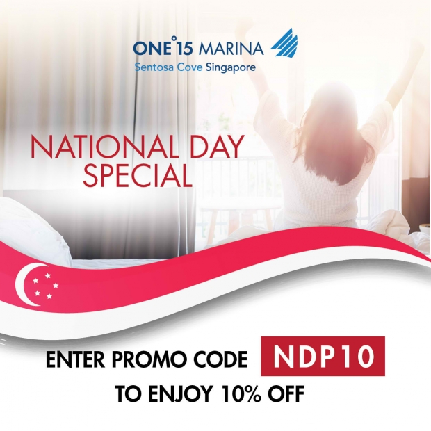 National Day Special in One°15 Marina Sentosa Cove