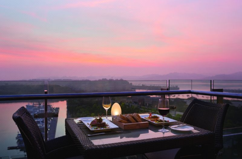 Hotel Jen puteri harbour johor bahru rooftop dining