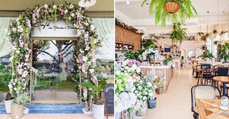 Café de Nicole's Flower best cafes singapore