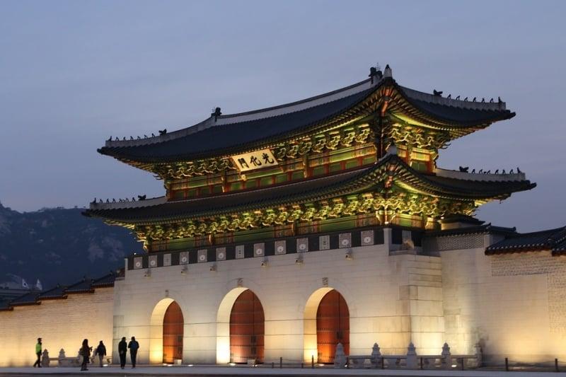 gwanghwamun kdrama filming locations