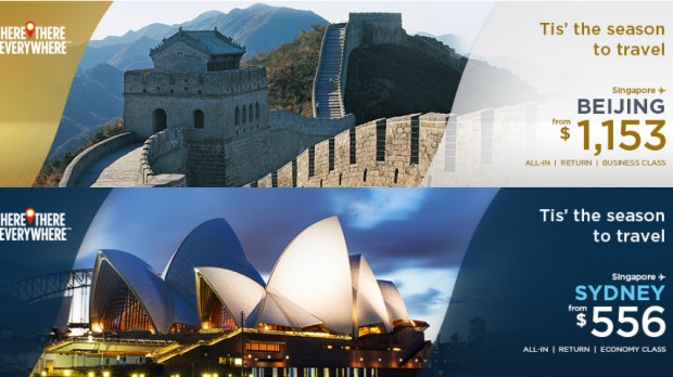 Enjoy the Season to Travel on Malaysia Airlines from SGD74