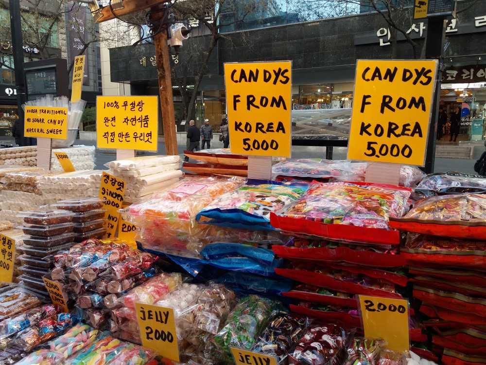 Korean candies
