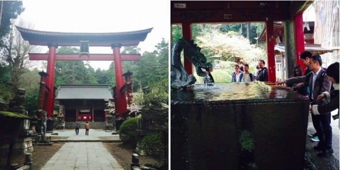 Đền Fujiyoshida Sengen