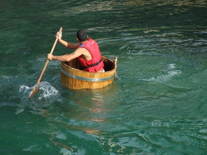 Chơi gì ở Nhật Bản?: Đi thuyền thúng