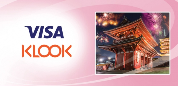 Enjoy Up to 75% Off with KLOOK Travel with Standard Chartered Visa Card