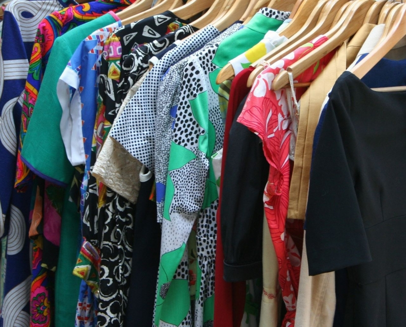 Thrift or rent your clothes
