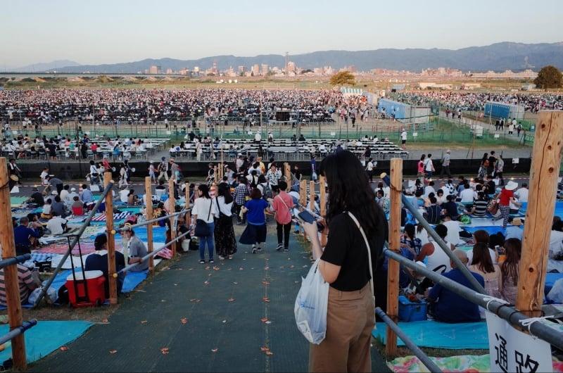 seats to nagaoka fireworks festival