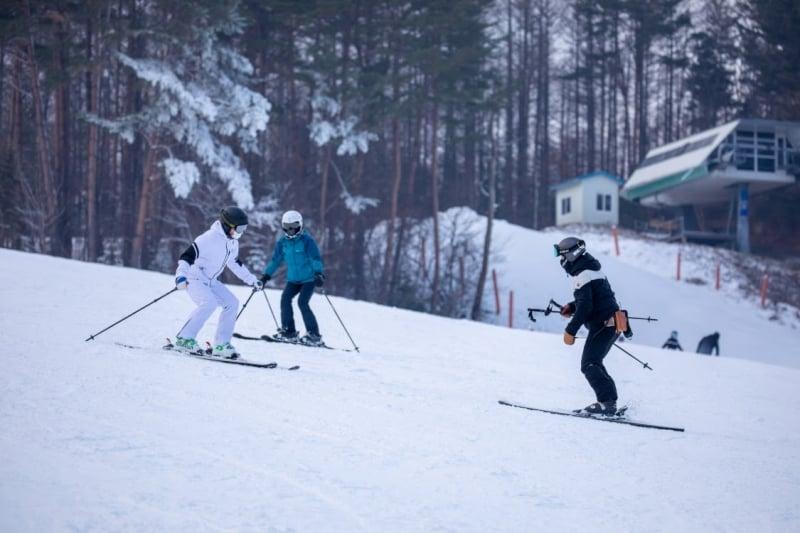 gangwon ski resorts: yongpyong