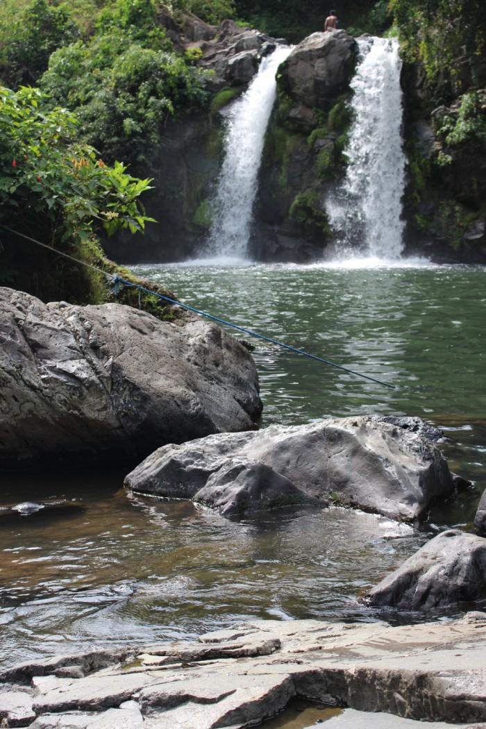 Bunga Twin Falls