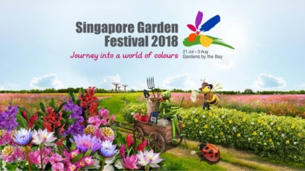 Singapore Garden Festival 2018 in Gardens by the Bay at 10% Off