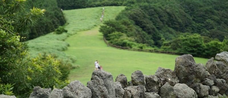Sangumburi Crater underrated places in south korea
