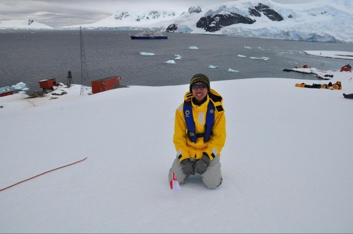 how to travel to antarctica from singapore
