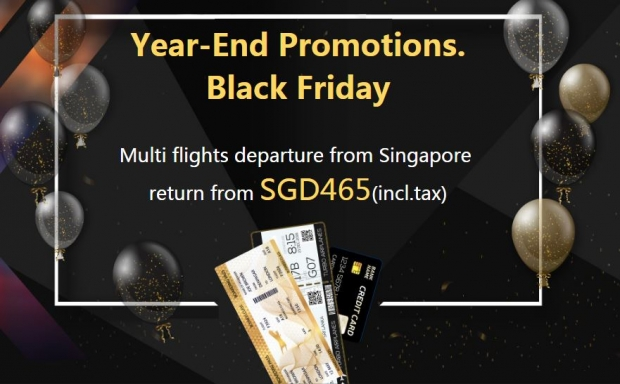 Black Friday Promotion in Air China from SGD465