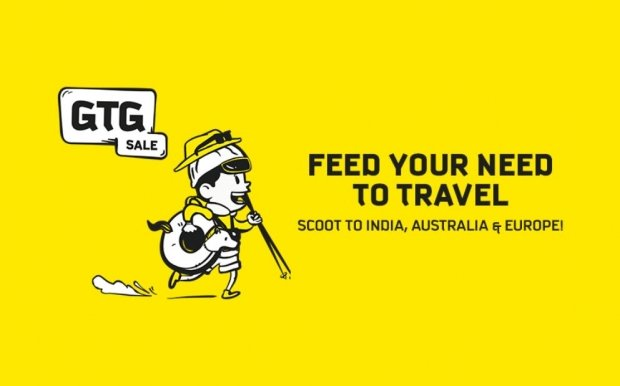 GTG Sale Tuesday - Scoot to India, Australia and Europe