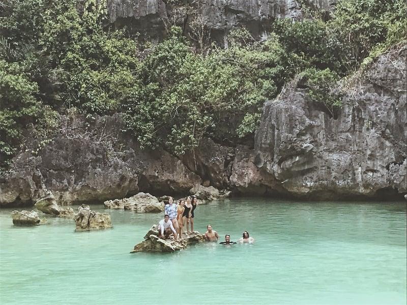 tangke saltwater lagoon | iloilo itinerary
