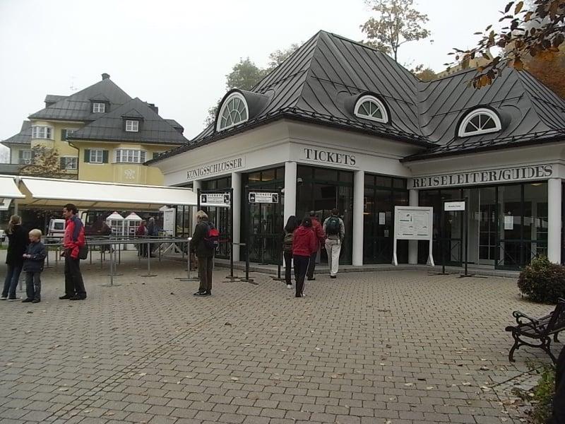 Neuschwanstein Castle ticket counter